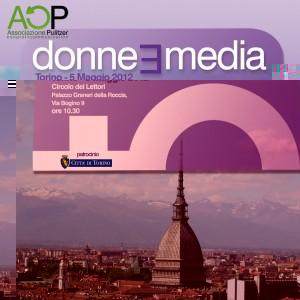 L'Associazione Pulitzer a Torino per parlare di Donne e Media
