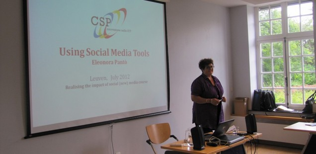 Realising the impact of social (new) media course