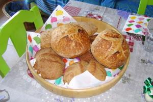 Il primo pane fatto in casa con pasta madre