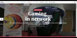 Gaming in network Nòva